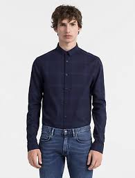 button up shirts calvin klein