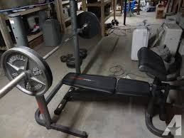 Weider Pro 125 Bench Weider Pro 240 Weight Bench Classifieds Buy U0026 Sell Weider Pro
