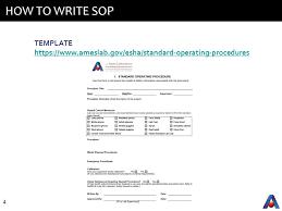 standard operating procedures ppt video online download