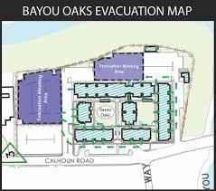 Evacuation Floor Plan Evacuation Plan University Of Houston