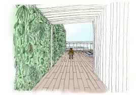 juvia restaurant miami vertical garden patrick blanc