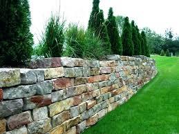 Small Garden Retaining Wall Ideas Flower Garden Retaining Wall Retaining Wall Installation Build