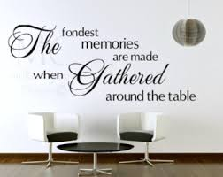 dining room decals etsy