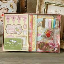 scrapbooking albums diy photo album for birthday albums for baby girl