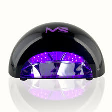 violetili 12w led lamp nail dryer black melodysusie