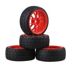 mobil balap mxfans rc 1 10 on road ban mobil balap merah y jenis roda rims