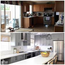 before u0026 after client abstract gets a new kitchen u2014 flippinwendy