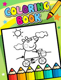 color peppa pig coloring pages android apps google play