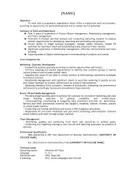 business resume for college students columbia business resume format free resume exle and