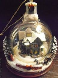 image result for kinkade ornaments ebay cottages houses