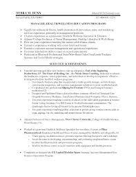 adjunct professor resume sample resume health educator resume printable of health educator resume large size