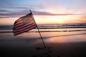 American Flag Sunset Work Hard Get Rich Maybe Not Anymore The Washington Post