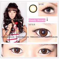 eos candy brown colored contacts pair wm208 brown 19 99