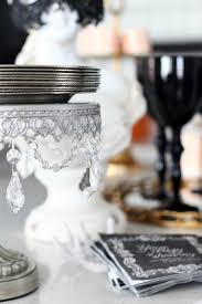 Halloween Entertaining Serveware A Hauntingly Beautiful Halloween Bash The House Of Silver Lining