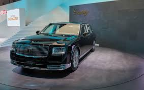 toyota century toyota channels lincoln for redesign of century flagship sedan