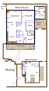 floor plan casa de colores
