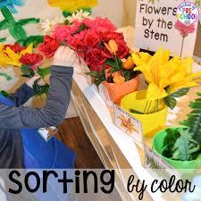 flower shop garden and flower shop dramatic play pocket of preschool