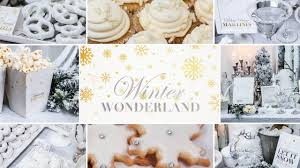 winter wonderland party holiday entertaining ideas youtube