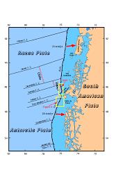 Plate Tectonics Map Sopac Southern Pacific Tectonics Usgs Pcmsc