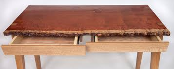 live edge desk with drawers bubbling live edge desk with drawers modern home office boston