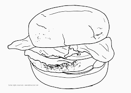 coloring pages kids burger coloring pages coloring