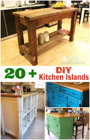 kitchen island ideas diy diy kitchen islands these kitchen island diy projects are great