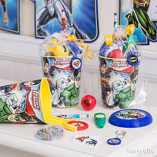 favor cups justice league favor cup idea party city party city
