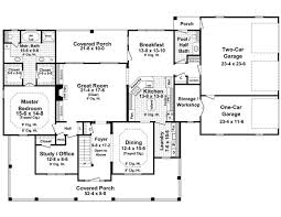 House Plans With Covered Porch House Plan 59172 At Familyhomeplans Com