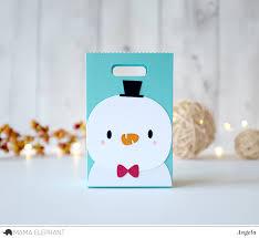 favor bag favor bag accessory snow deer elephant