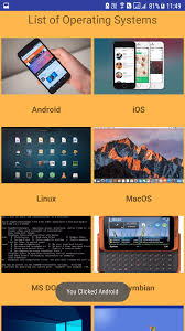 gridview android android custom gridview exle with image and text