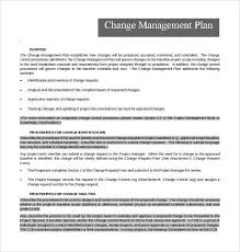 Project Project Management Change Request by Change Management Template Free Change Management Plan Download