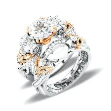 his and rings gold and silver wedding rings sterlg gold wedding rings