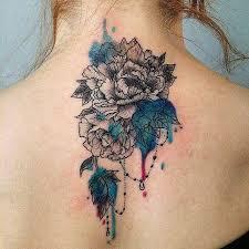 Tattoo Ideas Back Neck Back Neck Chrysanthemum Tattoo Best Tattoo Ideas Gallery