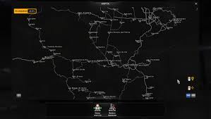 Map Of Brazil South America by Map Of Brazil For Ats From Mario V1 2 American Truck Simulator