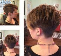 haircuts for woemen shaved one side long the other 18 easy short hairstyles with bangs shaved hairstyles side