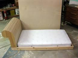 homemade toddler bed diy toddler bed fainting couch part 2 reality daydream