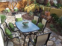 Vintage Redwood Patio Furniture - the 2 minute gardener photo southwestern flagstone patio