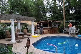 above ground pool landscaping design ideas pool design ideas
