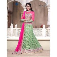 buy dynamic pista green color net fabric indian embroidery
