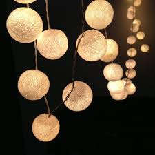 String Of Fairy Lights by 3m 20 Cotton Ball Fairy Lights Warm White Party Lights Company