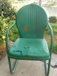 12 best metal patio chairs vintage images on pinterest gliders