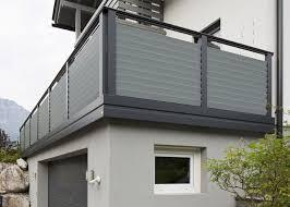 balkone aluminium alu design villingen leeb balkone und zäune