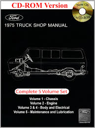 1975 ford truck shop manual ford motor company david e leblanc