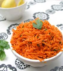 moroccan raw carrot salad a great side dish in 15 minutes