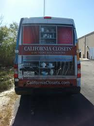 avilagraphix com vehicle partial wrap california closets