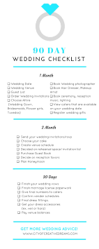 wedding checklist book how to plan a wedding in 90 days city of creative dreams
