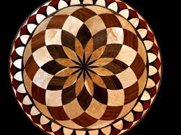 wood floor medallions inlay designs