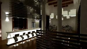 interior of a wine bar rendering 720p hq 3ds max 2009