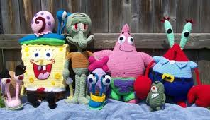 spongebob and friends 7 patterns for 25 00