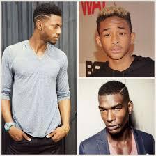 coupe de cheveux homme noir des idées coiffures pour homme afro côtés courts haut